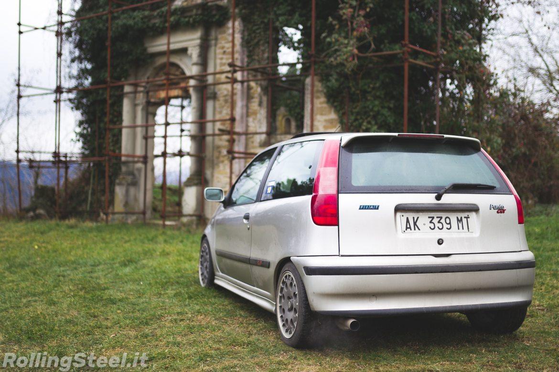 Fiat Punto GT rear