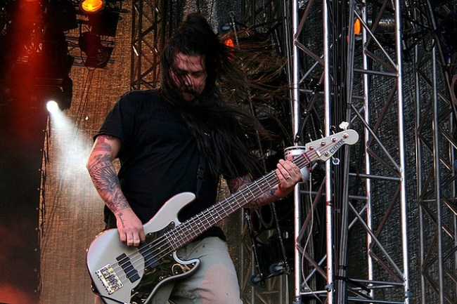 Photo: Chi Cheng of Deftones. Photo: Creative Commons Attribution 2.0 Generic License/danieljordahl on Flickr
