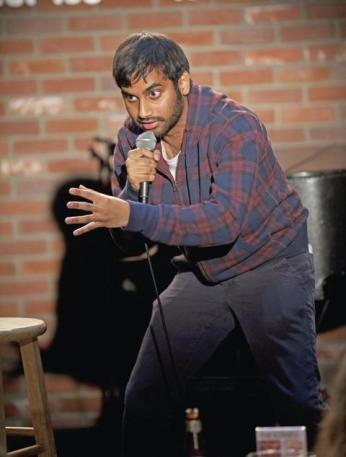 Aziz Ansari's new material takes a jab at love in the age of smart phones. Photo: Shutterstock India