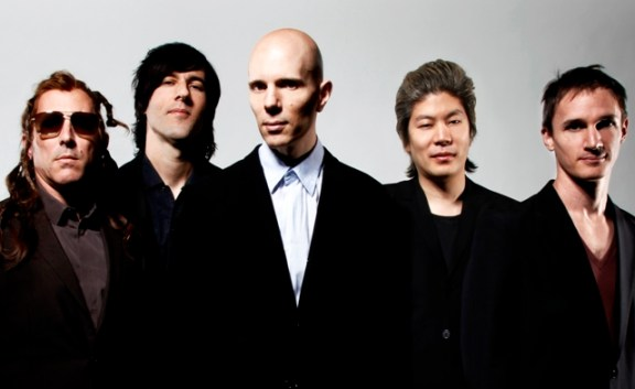 (center) Billy Howerdel with A Perfect Circle