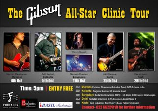 The Gibson All Star Clinic Tour