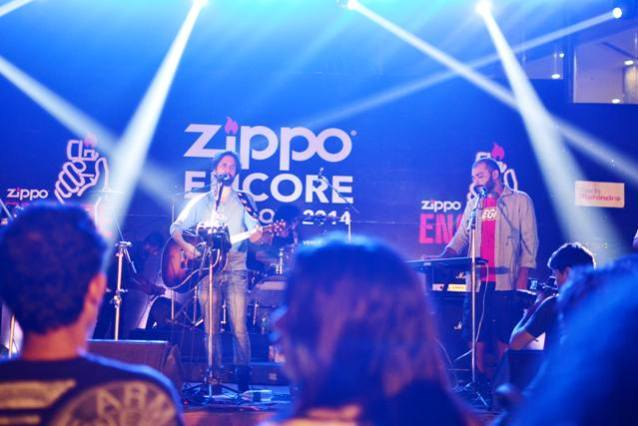 Ankur Tewari and Sidd Coutto jam at the Zippo Encore Pre-Show in Pune | Photo Credit: Jai Sangoi