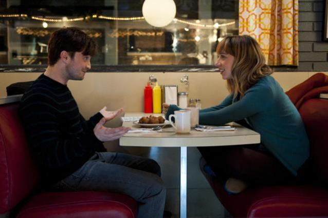 Daniel Radcliffe and Zoe Kazan in What If (2013)