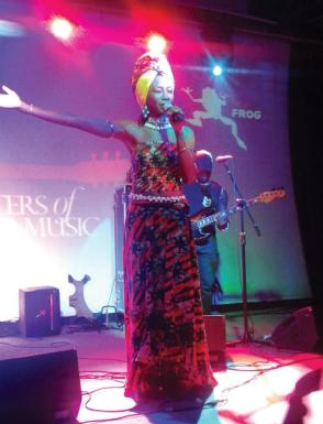 Fatoumata Diawara | Photo Credit: Blackberrys Sharp Nights - Masters Of World Music