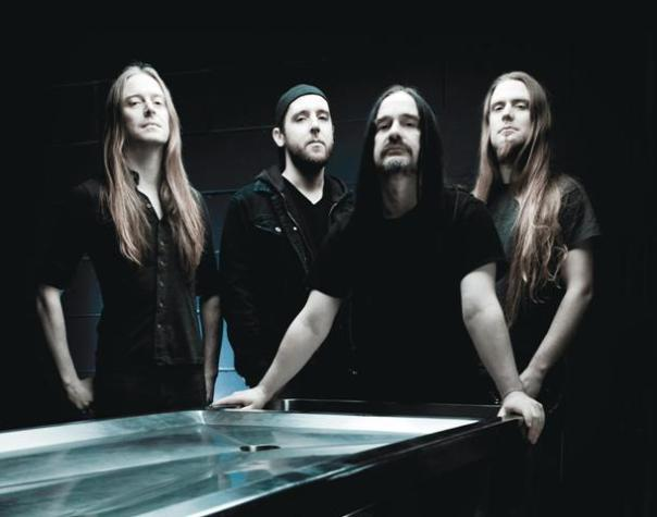 Carcass - Bill Steer, Daniel Wilding, Jeffrey Walker and Ben Ash (from left). Photo: Courtesy of Nuclear Blast