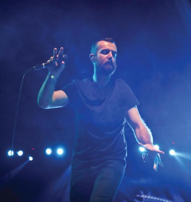 Karnivool vocalist Ian Kenny in Pune in 2013 | Photo Credit: Monisha Ajgaonkar