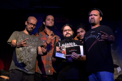 Demonic Resurrection wins the Best Band award at RSMA 2015 Photo: Prashin Jagger