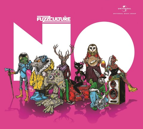 FuzzCulture album art designed by Visual Amnesia. Photo: Courtesy of Universal Music