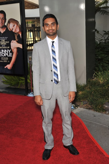 Aziz Ansari's new book 'Modern Romance' dissects dating in the digital age. Featureflash