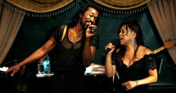 Nicholas Ashford and Valerie Thompson. Photo by Richard Termine.