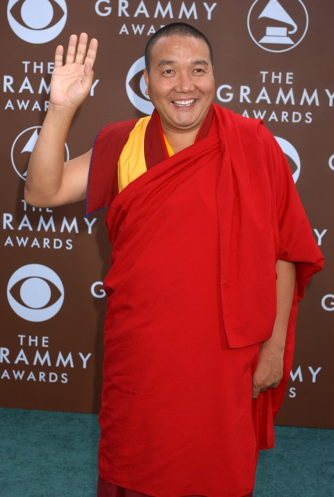 Lama Tashi (Photo by Gregg DeGuire/WireImage for The Recording Academy) *** Local Caption ***