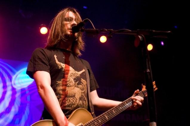 Steven Wilson live with Porcupine Tree at IIT Mood Indigo in Mumbai. Photo: Bobin James