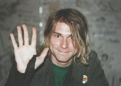 Kurt Cobain. Photo courtesy of Flickr.