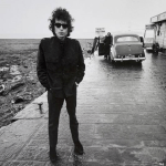 Bob Dylan, Aust Ferry, England 1966. Photo: Paul Townsend/Flickr