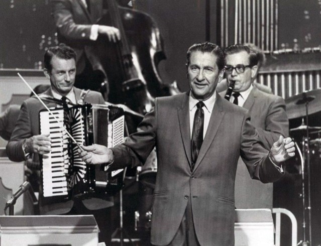 Lawrence Welk. Photo courtesy of ABC Television/Public Domain via Wikimedia Commons.