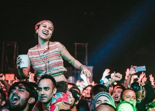 The crowd at Bacardi NH7 Weekender's debut edition in Shillong in 2015. Photo: Naman Saraiya