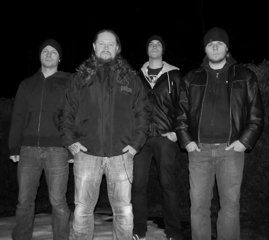 Swedish death metal act Paganizer. Photo: Courtesy of the band.