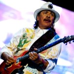 """I'm very honored and grateful that they trust me,"" says Carlos Santana of his Mega Nova bandmates. Photo: Bobin James."