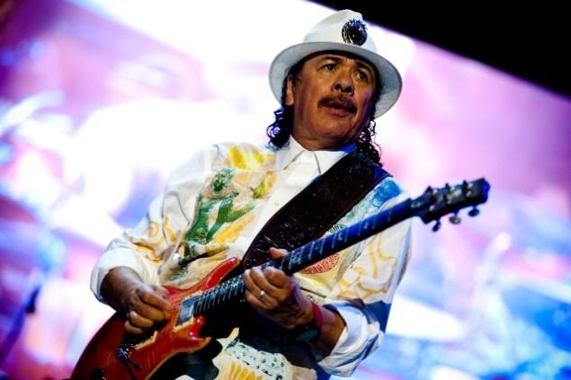 Carlos Santana. Bobin James.