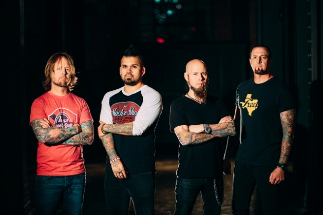 Drowning Pool will make their India debut in October. Photo: Courtesy of Adrenaline PR