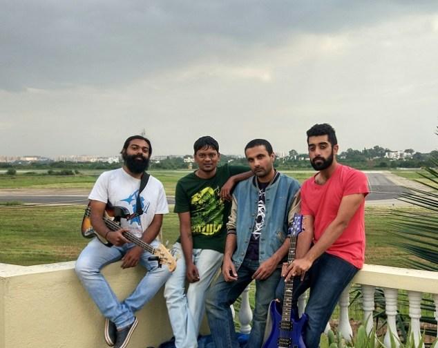 Bengaluru prog rock band Rainburn. Photo: Courtesy of the artist