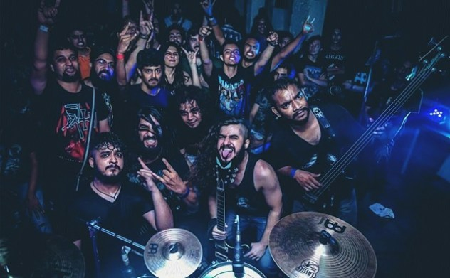Delhi extreme metallers High Frequency. Photo: Courtesy of Proximity Productions