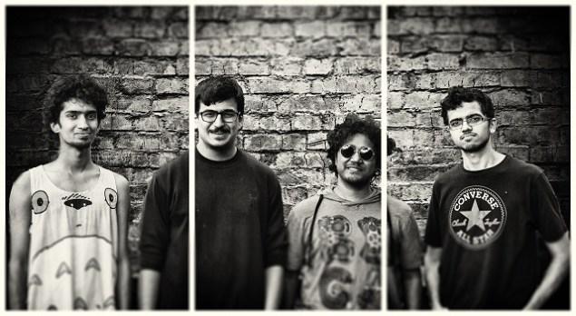 Pune post-rock/prog band Cat Kamikazee. Photo: Mayuri Deshmukh