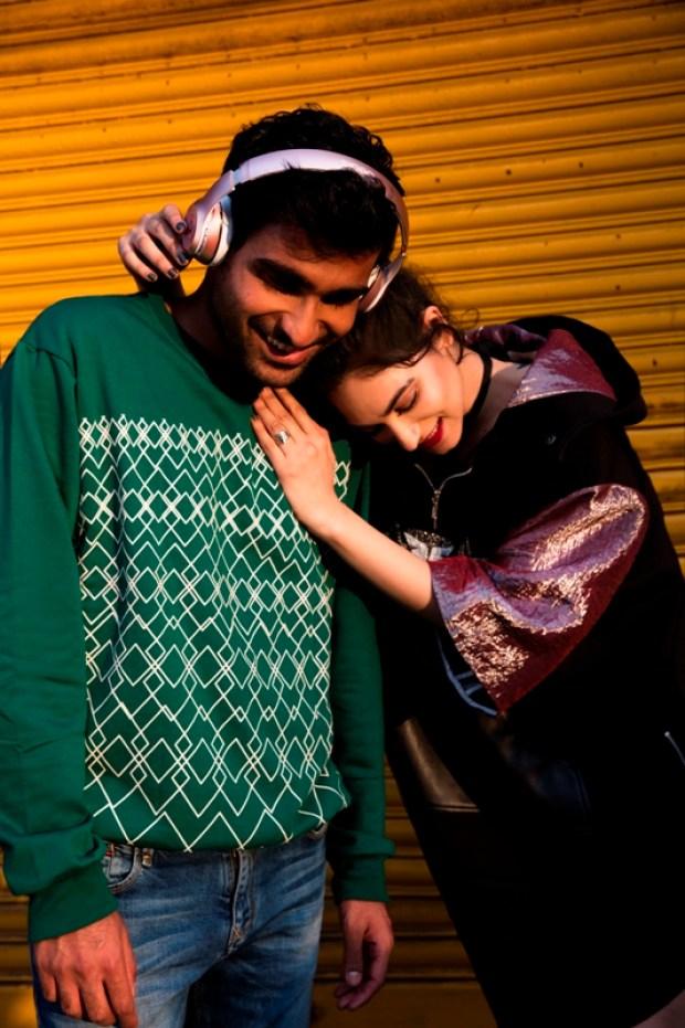 Prateek Kuhad and Kavya Trehan. Photo: Ishaan Nair for Apple Music