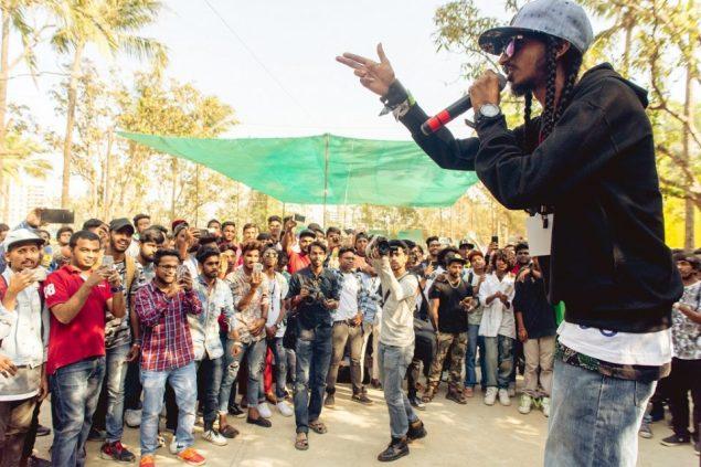 Dopeadelicz rapper Tony 'Stony Psyko' Sebastian at Control Alt Delete 10 in Mumbai, Photo: Prashin Jagger