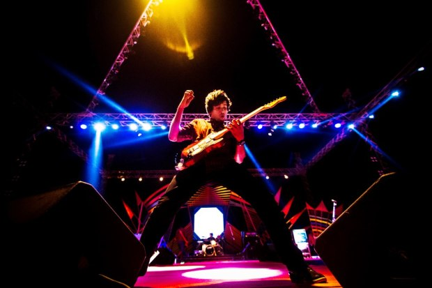 It is now certain that Sriram T.T. is the frontman indie music had been deprived of for so long. Photo: Ron Bezbaruah