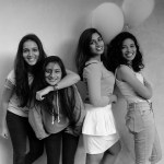The Bassic. (From left to right: Sianna Gomes,  Brunelle Jade, Alezzandra Rodi, Aarifah Rebello.) Photo: Courtesy of the artist