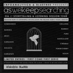 Aswekeepsearching's listening tour dates for 'Zia'. Click to enlarge
