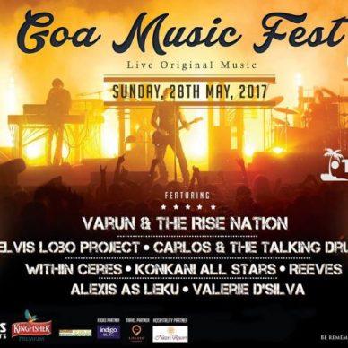 Goa Gets its First All-Original Music Festival 'Goa Music Fest'