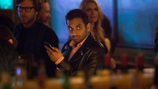 Two of the bravest voices that have emerged in comedy are Aziz Ansari, pictured, and fellow comedian Hasan Minhaj.
