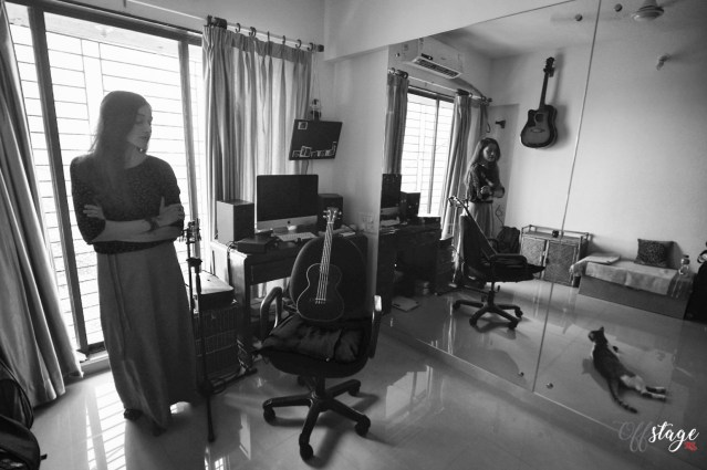 """""""The room where I have my set-up makes me feel relaxed and off-guard, that's when music happens for me."""" Photo: Swaraj Sriwastav"""