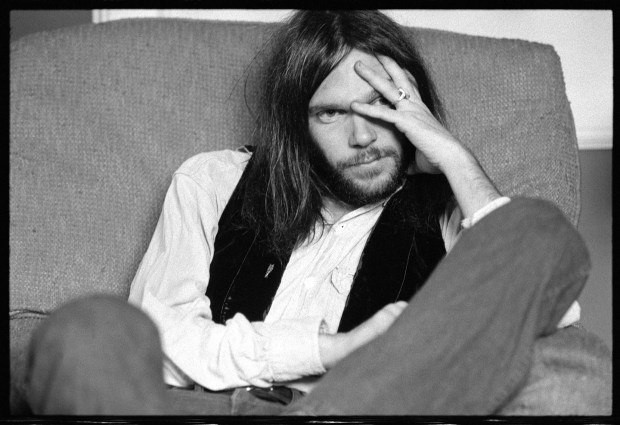 Neil Young's other band Crazy Horse's garage-rock thrash sound was the complete opposite of Crosby, Stills, Nash and Young. Photo: Gary Burden