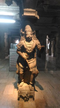 Sculpture of the 1000 pillar temple