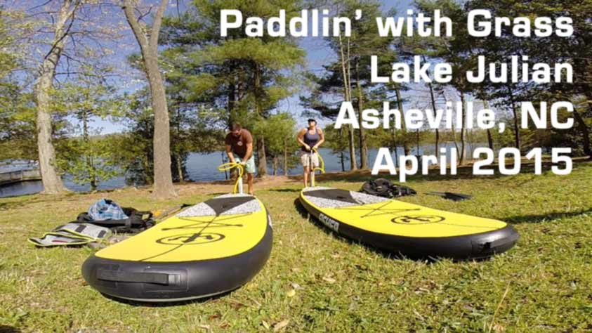 stand up paddle sup lake julian asheville north carolina