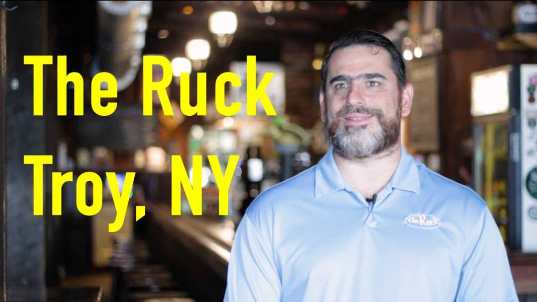 the ruck craft beer bar troy ny