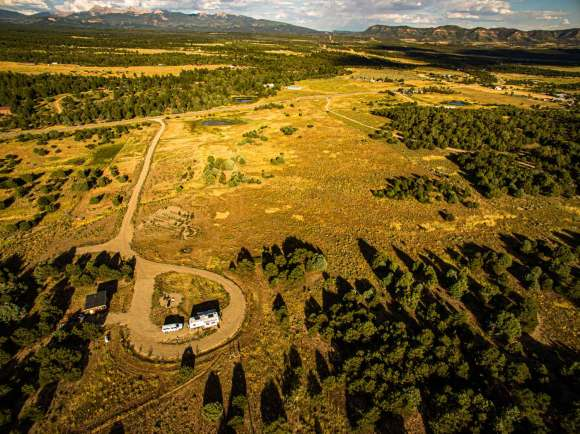Birdseye view of Mancos from Grassland