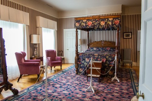 The guest room where Will and Kate slept
