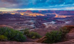 Moab-Canyonlands-Green River Overlook Sunrise-6925