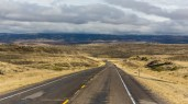 Heading out of Cody, WY