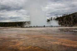 Yellowstone- Grand Prismatic Spring-7234