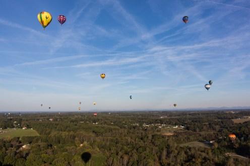 Flying over Statesville