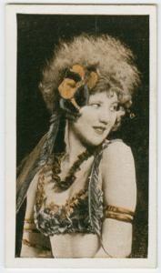 Greta Fayne Cigarette Card