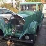 Green Rolls Royce, Worthing