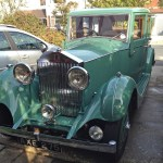 Green Rolls Royce, Worthing