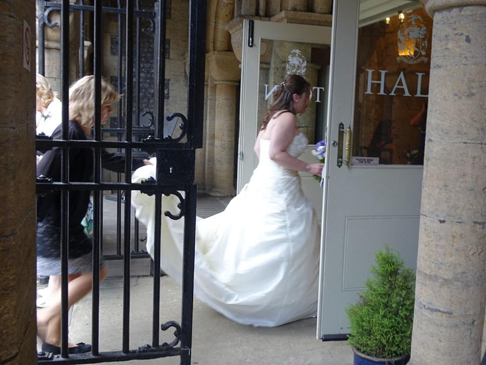 A dash to the altar © Rolls-Royce Wedding