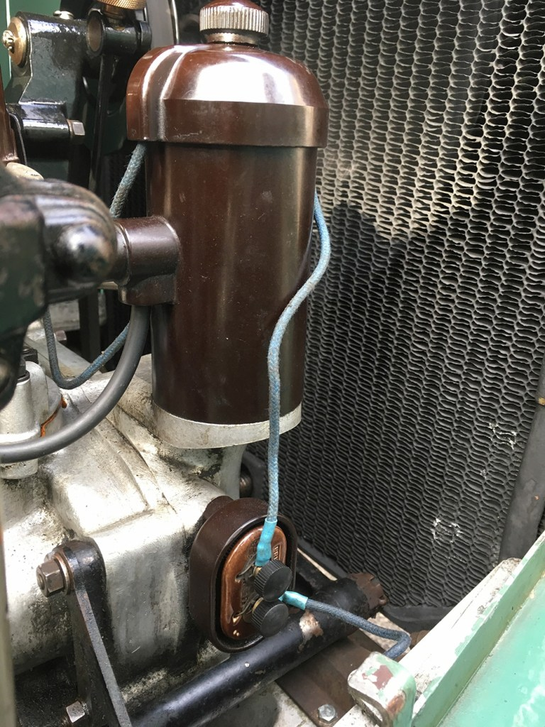 5.5 volt coil, low tension and ballast resistor Rolls-Royce 20-25